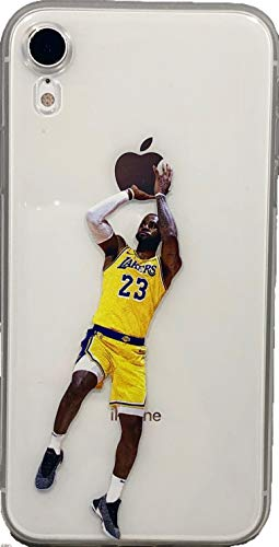 ECHC Hartschalen-Schutzhülle für iPhone (Basketballspieler), iPhone 7 and 8, James Fader (Fällen Michael Jordan Telefon)