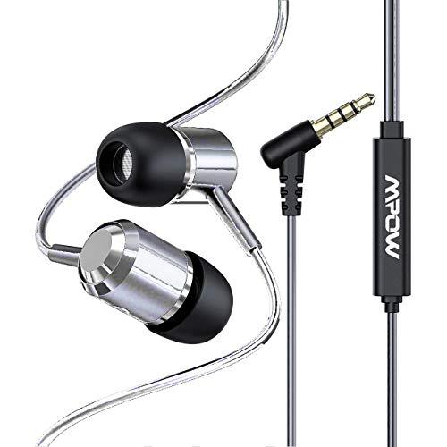Mpow Auricolari con Cavo Auricolari in-Ear con Cavo Stereo Universale 5cce88cb7d91