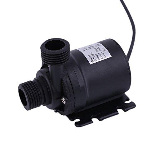 Preisvergleich Produktbild Ultra Quiet Mini Lift 5M 800L/H Bürstenlosen Motor Tauchwasserpumpe DC12V