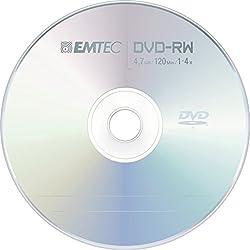 Emtec 4x 4.7gb Dvd-rw