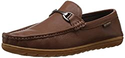Lee Cooper Mens Tan Leather Loafers and Mocassins - 8 UK
