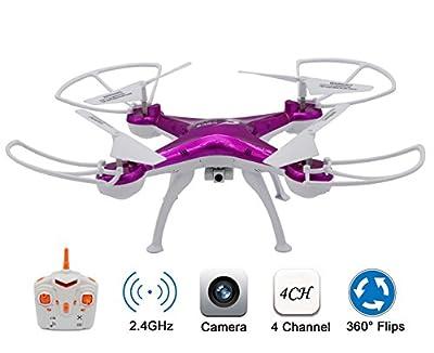 KELIWOW RC Quadcopter Camera Drone