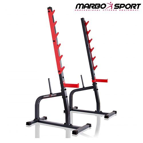 Kniebeugenständer MS-S105 von Marbo Sport Hantelablage by Marbo Sport