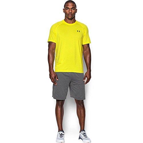 Under Armour Ua Tech Ss Tee Herren Fitness - T-Shirts & Tanks, Gelb Flash Light, - Jordan T-shirt