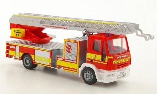 Preisvergleich Produktbild Iveco Magirus DLK M 32 L-AS, Feuerwehr Bad Homburg, Modellauto, Fertigmodell, Rietze 1:87