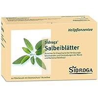 Sidroga Salbeiblätter Tee Filterbeutel, 20 St. preisvergleich bei billige-tabletten.eu