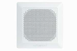 """Artsound Waterproof Encastrables DC84 Haut-parleurs multimédia Design """"carré étanche"""" 100W Blanc"""