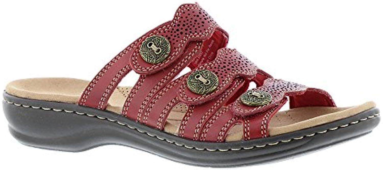 Clarks Wouomo Leisa Leisa Leisa Grace rosso Leather 9.5 A US | Abbiamo Vinto La Lode Da Parte Dei Clienti  7818ba