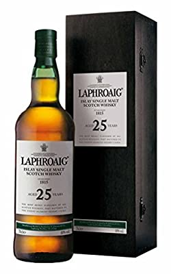 Laphroaig 25 Year Old Single Malt Scotch Whisky 70cl Bottle