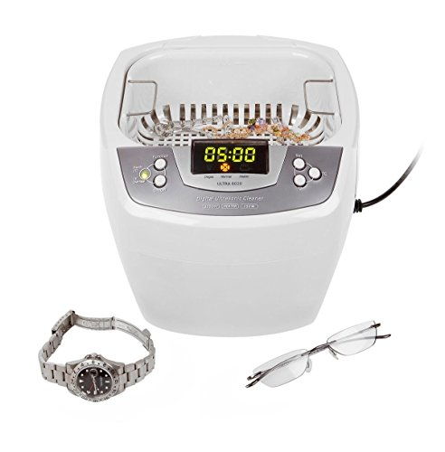 James Products Ultra 8020-H, Profi Ultraschallreiniger 2 Liter Tank mit Heizung und Degas-Funktion, neustes 2012er Modell -