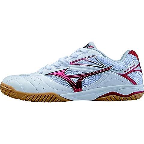 Mizuno Wave Drive 7Scarpe da tennis tavolo–rosso/bianco–270g, uomo Bambino Donna,