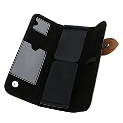 Phenovo Scissors Pouch Holster for Hairdressers Salon Hair Stylist Barber Shears Tools Hairdressing Holder Case Bag