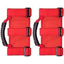 Vosarea 1 par de Mantener la Seguridad del Equilibrio Estable Antideslizante Hand Grip Handle para Jeep