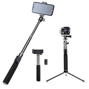 AUKEY Bluetooth Selfie Stick Premium mit Stativ und Fernauslöser für GoPro, iPhone, Samsung, Kamera und vieles mehr