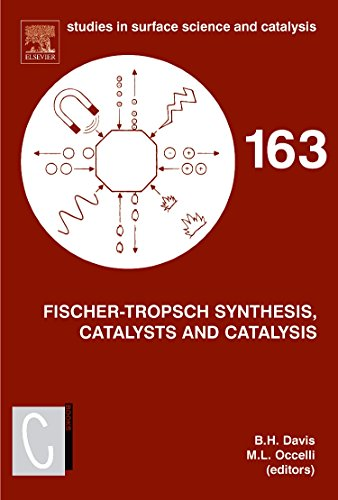 Fischer-Tropsch Synthesis, Catalysts and Catalysis (Studies in Surface Science and Catalysis)