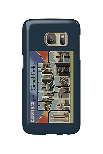 Greetings from Grand Forks, North Dakota (Galaxy S7 Cell Phone Case, Slim Barely There) -