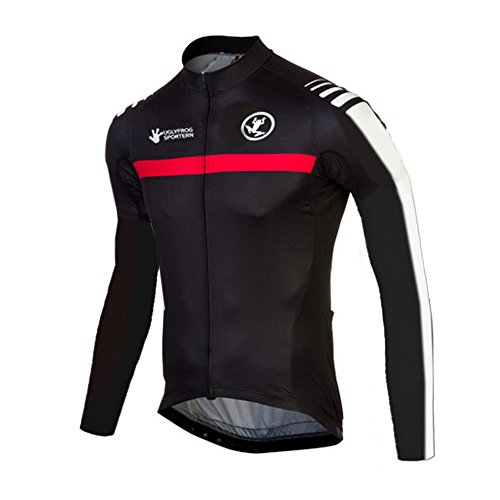 Uglyfrog SLJ24 New Spring&Autumn Mens Breathable Long Sleeve Cycling Jersey Bicycle Top Triathon Clothing