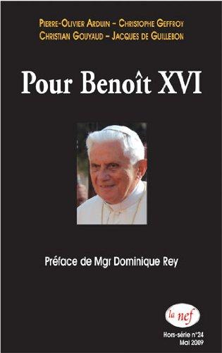 Pour Benot XVI