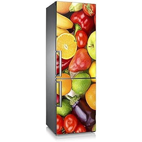 Vinilo para nevera | Stickers Fridge | Pegatina Frigo | Frutas&Hortalizas (185x60)