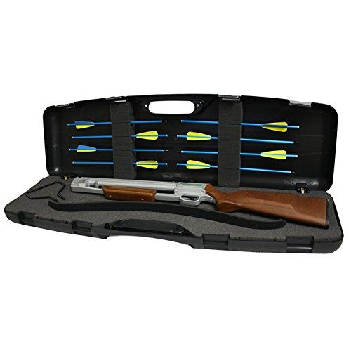 MadBull Waffenkoffer für Armbrust und Bogen gepolstert mit Pfeilhalterung schwarz
