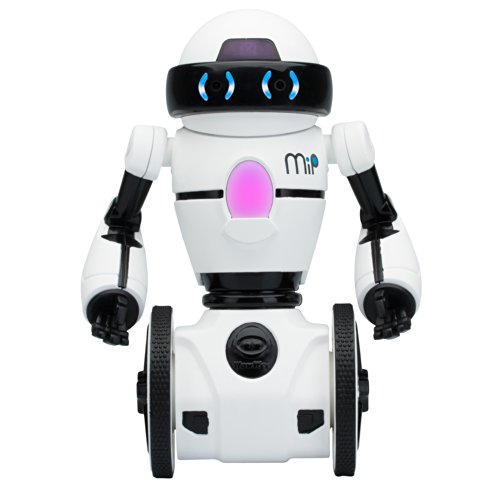 41cyLGXMowL - WowWee - Robot MiP, color blanco (0821)