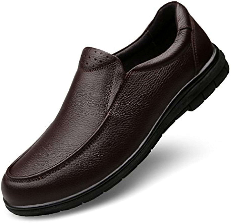 HHYKomfortabel und breathableHigh Hilfe tide Schuhe Herren Schuhe aus Leder von Englands Männer Leder große code