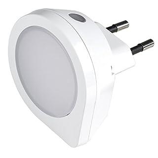 Airam Kansas Nachtlicht mit Dämmerungssensor 1.5W, Weiß, 63x 60mm