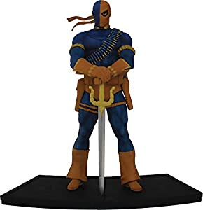 Icon Heroes- DC Heroes Teen Titans: Deathstroke 1:9 Scale Figura Coleccionable, Multicolor (AUG188620)