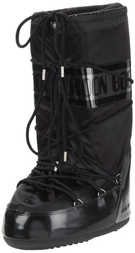 Moon Boot, Moon Boot Glance, Stivali,Donna, Nero 003, 31/34