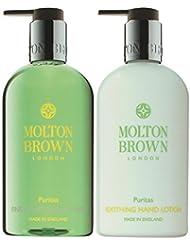 Molton Brown Kit Puritas Gel Mains + Lotion Mains 600 ml