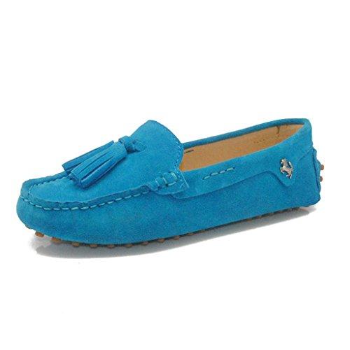 Meijili , Sandales Plateforme femme Bleu ciel