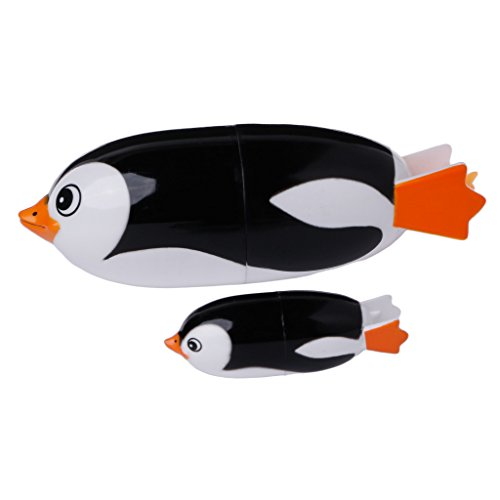 (LyGuy 2 Stücke Halloween Kostüm Party Cosplay Reißzähne Requisiten Zombie Vampire Zahnersatz Zähne Pinguin Badespielzeug Regalo para Niños)