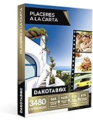 DAKOTABOX - Caja Regalo - PLACERES A LA CARTA - 3480 Experiencias imprescindibles