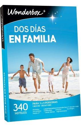 WONDERBOX Caja Regalo -Dos DÍAS EN Familia- 340 hoteles inolvidables para Cuatro Personas