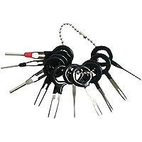Juego de herramientas de extracción de terminales QISF, 11 piezas, kit de extractores de cables eléctricos para coche