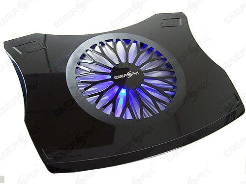 """Notebook Laptop Kühler für 17"""" - 19"""" Notebook Laptop (41cm x 33cm) XXL Kühler mit Blau LED ***(Schwarz)***"""
