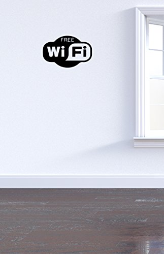 Oedim Vinilo Decorativo Para Pared Wifi | 15x10cm