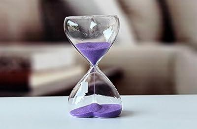 XJoel Sand Clock Sandglass Hourglass Timer for Decoration - cheap UK light store.