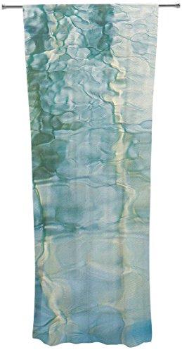 Kess eigene Malia Schilde Flüssigkeit Serie # 2Vorhänge, Gardinen, 76,2x 213,4cm - Vorhänge Zwei Panel-grüne