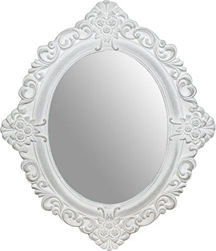 Spiegel OVAL 50 x 2 x 58 CM Ovaler Holz-spiegel