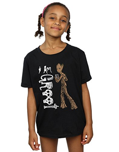 Marvel Girls Avengers Infinity War I Am Teenage Groot T-Shirt