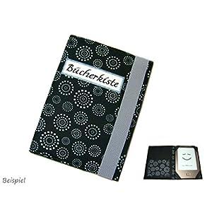 aufklappbare eBook Reader eReader Tablet Hülle Flower Circle, Maßanfertigung, z. B. für Tolino Epos/Tolino Vision 4HD