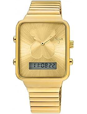 Uhr Tous i-bear Digital Gold Frau 700350125
