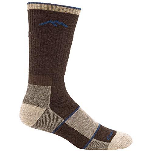 Darn Tough Herren Merinowolle Wanderstiefelsocken Full Cushion Socks, Herren, schokoladenbraun, Medium (8-9.5) -