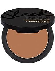 Sleek MakeUP - Superior Cover Pressed Powder - Abdeckendes Puder (Gepresst) - Nr. 108 - Brown Velvet