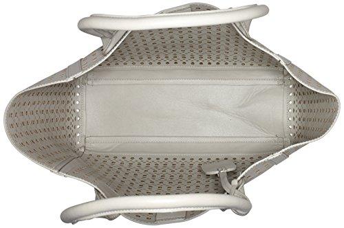 Buffalo BAG 601959 Leather PU, Borsa con Maniglia Donna, 17x25x34 cm (B x H x T) Grigio (GREY 17)
