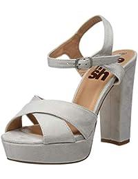 5c1ccb6a239 Amazon.es  Blanco - Zapatos de tacón   Zapatos para mujer  Zapatos y ...