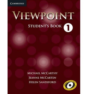 [(Viewpoint Level 1 Student's Book)] [ By (author) Michael J. McCarthy, By (author) Jeanne McCarten, By (author) Helen Sandiford ] [June, 2012]