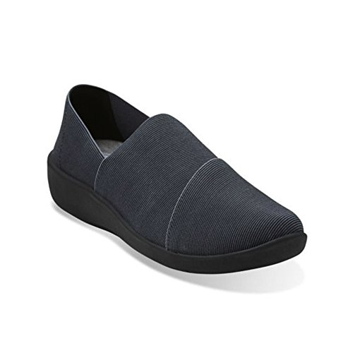 Clarks Cloudsteppers Sillian Firn Wohnung Black Synthetic