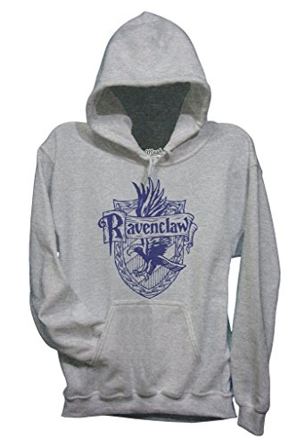MUSH Sweatshirt Ravenclaw Harry Potter - Film by Dress Your Style - Damen-M-Grau